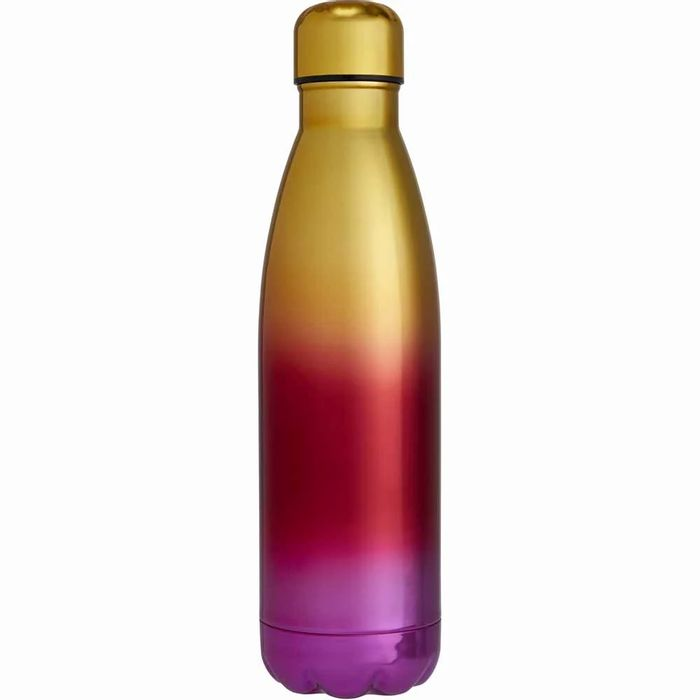 Wilko Gold and Pink Ombre Double Wall Bottle 0ther Designs Same Price