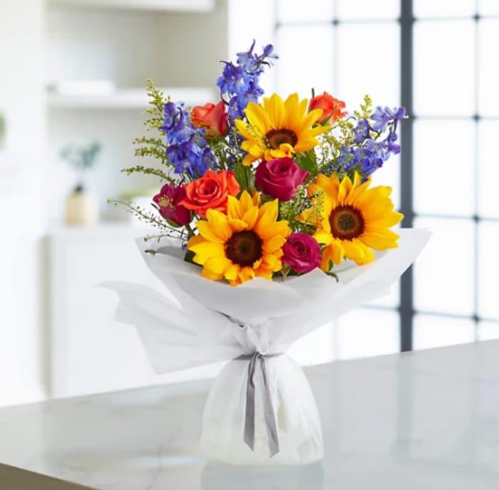 Save £5 - Marks & Spencer Summer Sunshine Bouquetta - £20 Delivered