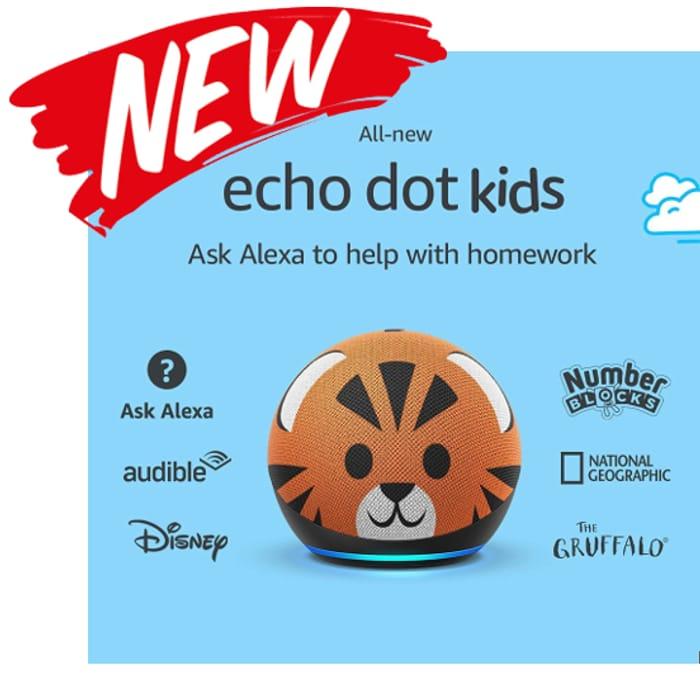 Heads Up! All-New Echo Dot Kids