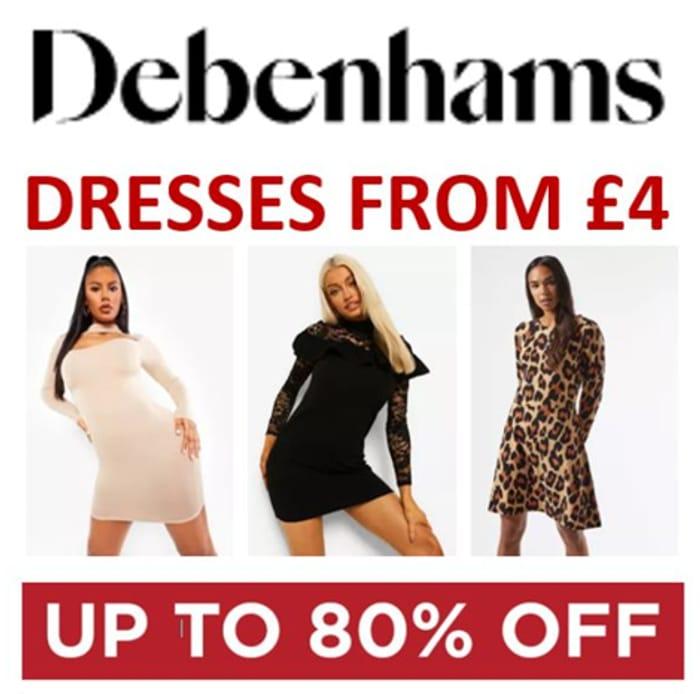 Debenhams - DRESSES SALE - From £4