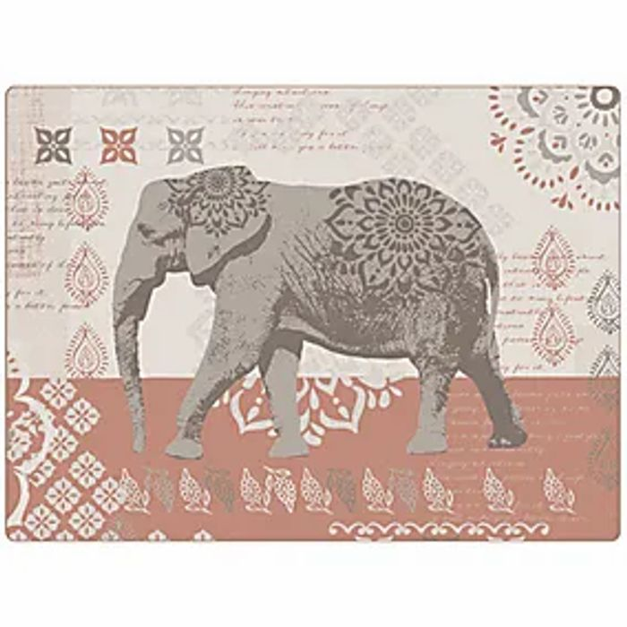 Pack of Four Cinnabar Placemats (Free Click & Collect)