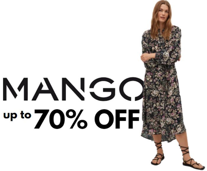 Mango - Up To 70% Off Women's, Men's, Kids, Plus Size & Home Sale