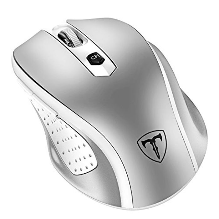 DEAL STACK - PONVIT Wireless Mouse 2.4G with 6 Buttons + 40% Coupon