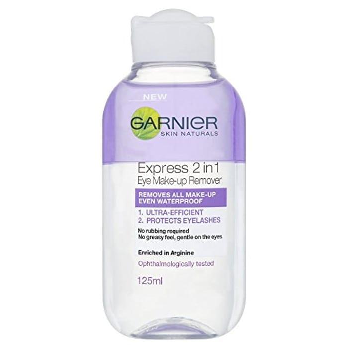 Garnier Skin Naturals 2in1 Eye Make up Remover 125 Ml