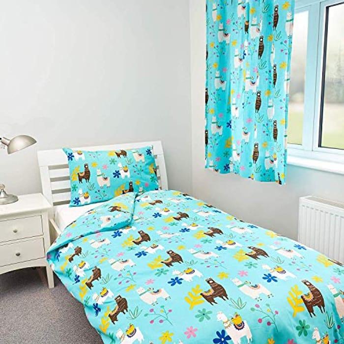 Zappi Co Llama Design Bedding