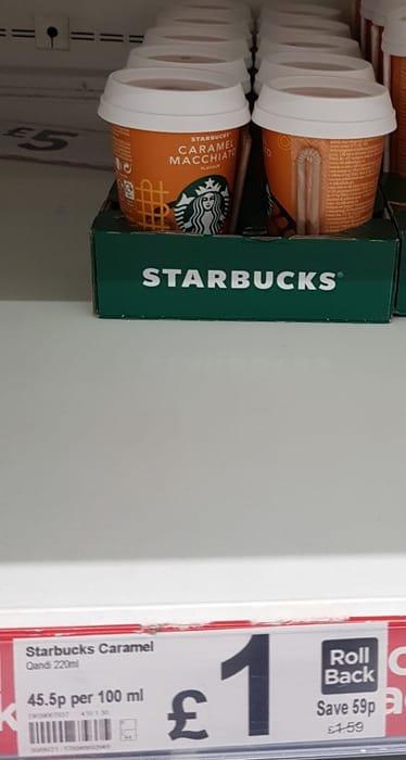 Starbucks Caramel Macchiato Coffee Drink  220ml
