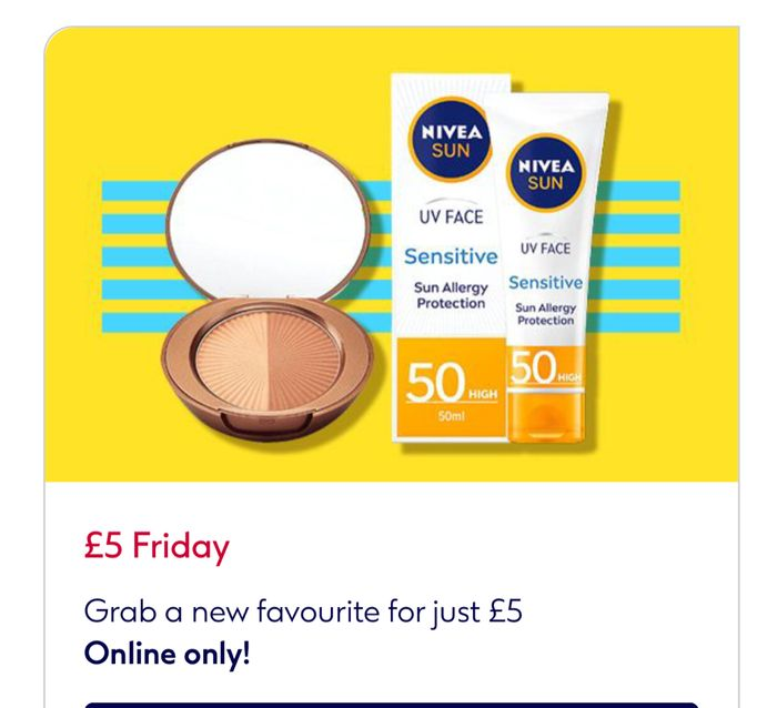 £5 Friday + Free Hand Sanitiser with Your £5 Friday Purchase