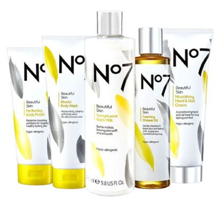 No7 Ultimate Indulgent Bathing Collection - Only £31.45 with Code / worth £55.75