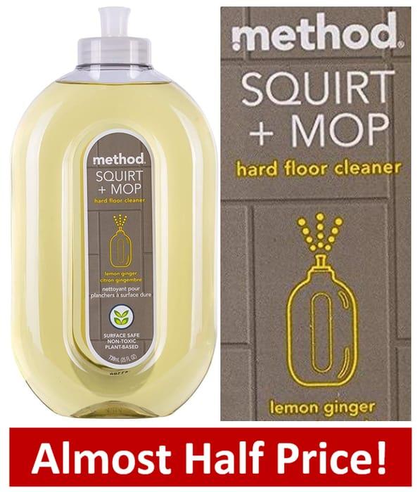 METHOD Squirt & Mop - Hard Floor Cleaner - LEMON GINGER