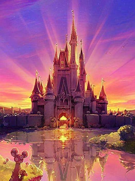 3D 'Castle' Diamond Painting Kit (Various Options Available)