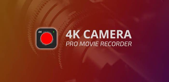 4K Camera - Filmmaker Pro Camera Movie Recorder Temp Free