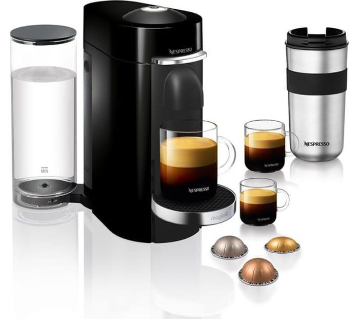 *SAVE £110* NESPRESSO by Magimix Vertuo plus Coffee Machine - Black/Silver