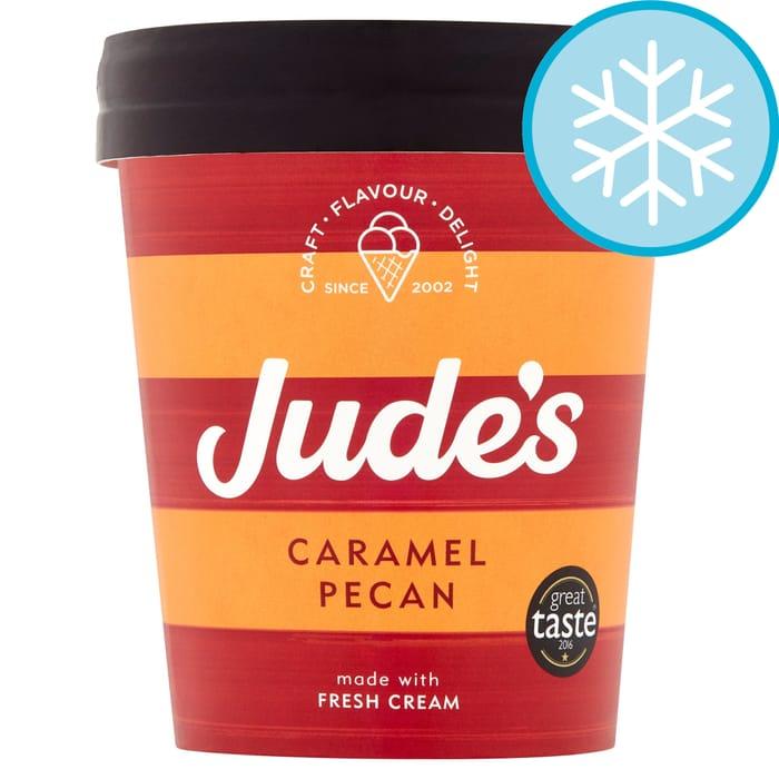 Jude's Caramel Pecan Ice Cream 460Ml