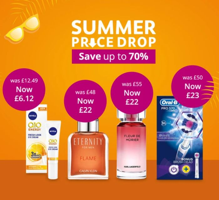 Lloyds Pharmacy Up To 70% Off Summer Sale