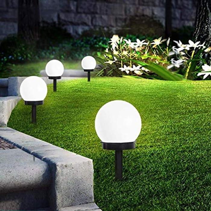 LED Solar Garden Lights 8Pcs Only £14.99 Delivered