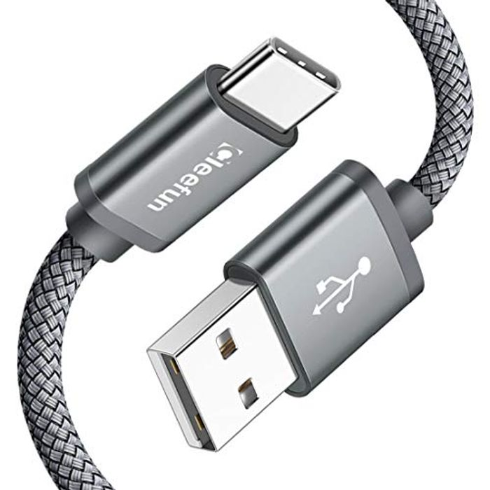 CLEEFUN 2 Pack 1.8m USB C Fast Charging Cables