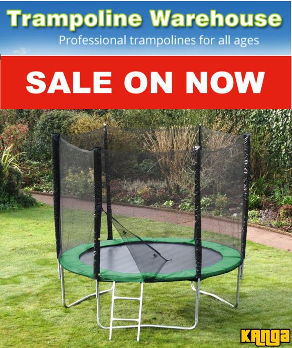 Special Offer! Trampoline Warehouse SALE - up to 40% off + Free Delivery