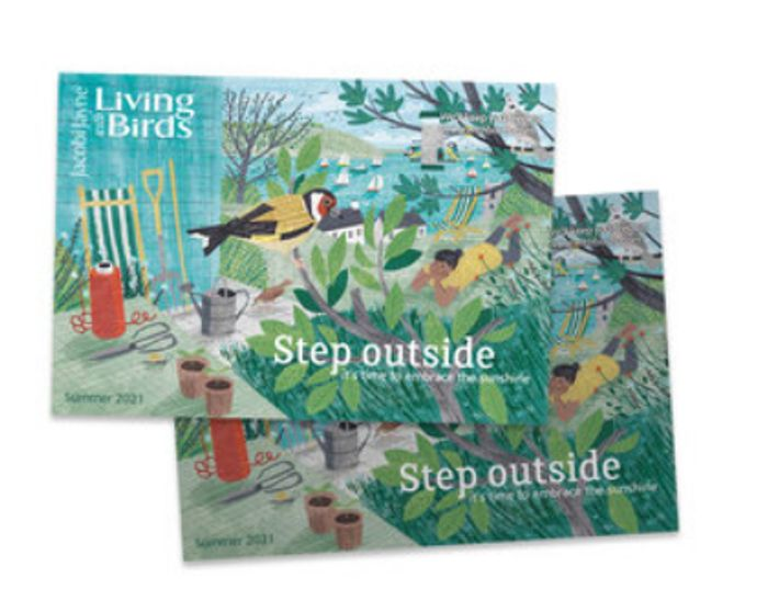 Free 'Living With Birds' Colour Catalogue *Foods Feeders Nest Boxes & Gifts