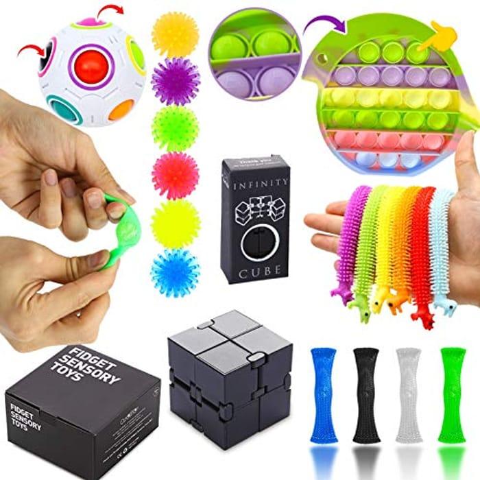 Sensory Fidget Toys Set, Fidget Toy Set, Stress Relief - Only £7.97!