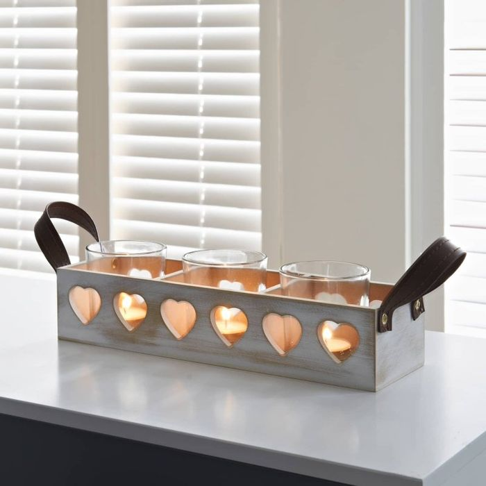 Wooden Candle Tealight Holder