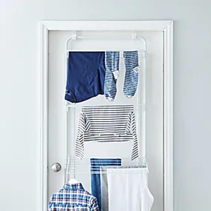 Bargain! 3 Tier Over Door Indoor Clothes / Laundry Airer - £2 Free C&C