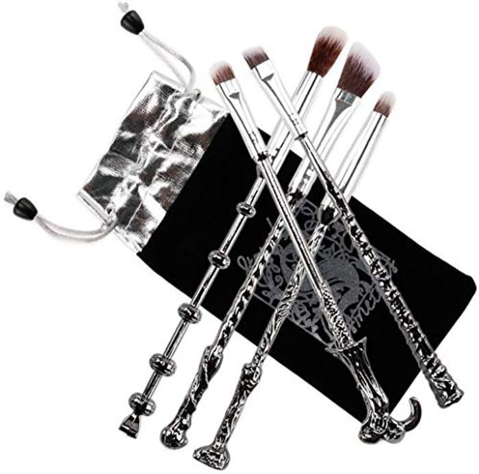 Fashion Base Metal Handle Wand Makeup Brushes Set - Only £2.99!