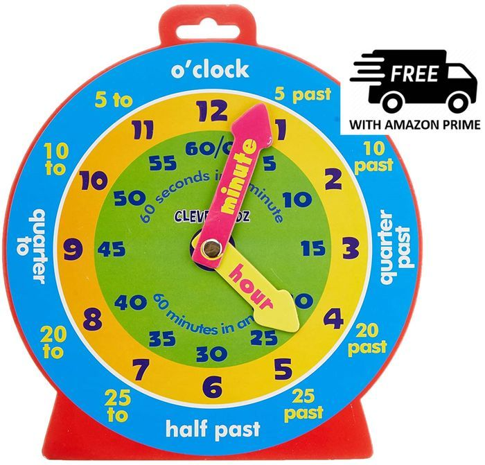 Learn to Tell the Time - TEACHING CLOCK