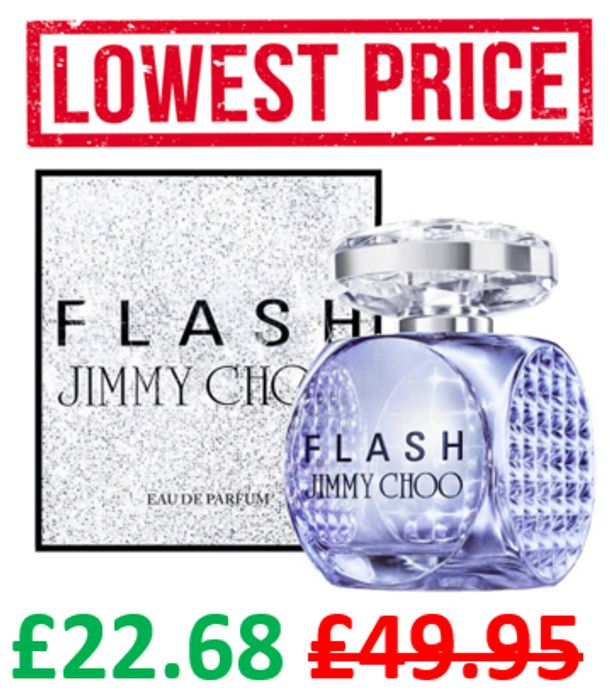 Jimmy Choo Flash EDP 60ml - ONLY £22.68 DELIVERED!