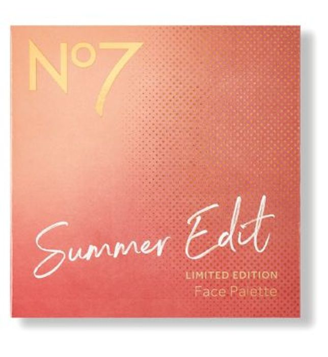 No7 Summer Edit Limited Edition Face Palette - save £13