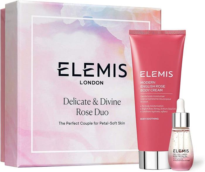 Elemis Delicate and Divine Rose Duo