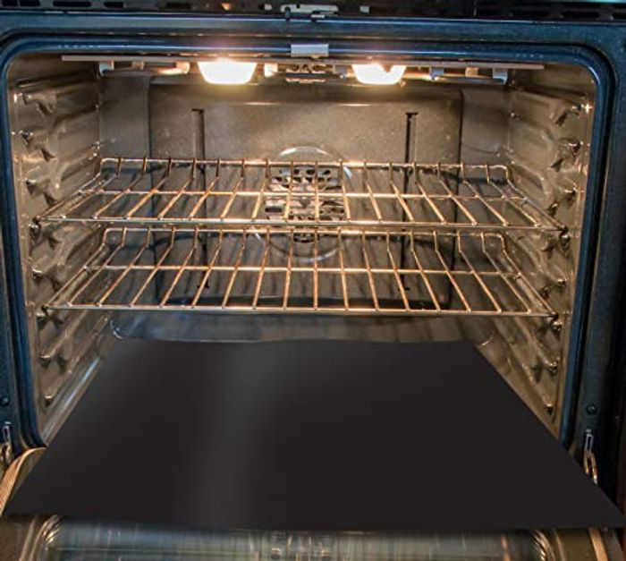 Toastabags OL-15-19 Heavy Duty Oven Base Liner Black 40cm X 50cm Approx
