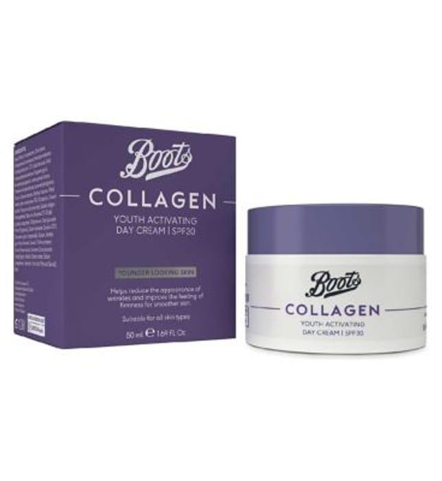 Boots Collagen Day Cream SPF30 50ml