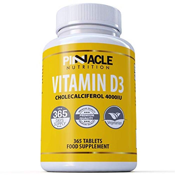 Vitamin D3 4000iu 365 Tablets | One Year Supply | Vitamin D