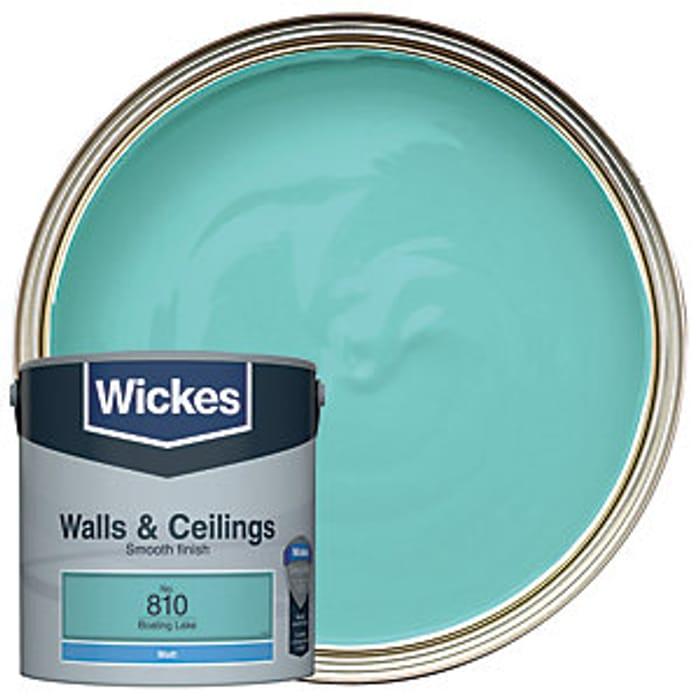 Wickes Boating Lake - No.810 Vinyl Matt Emulsion Paint - 2.5L