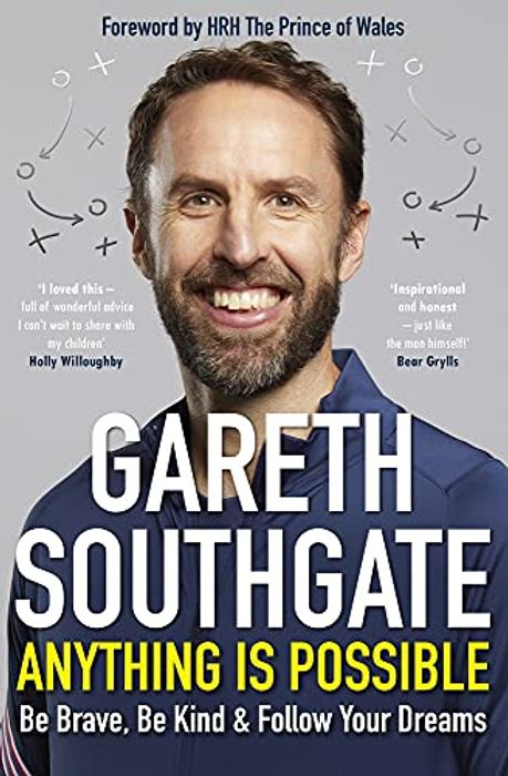 Hardcover Book Gareth Southgate Anything is Possible