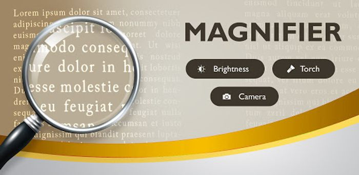 Magnifier Pro - Magnifying Glass with Flashlight - Usually £0.59