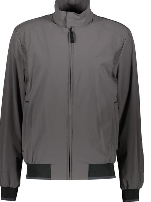 GEOX Grey Nebula Harrington Jacket