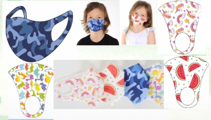 5 for £1 on Selected Etiquette Face Covering for Kids ,49p Each Mask