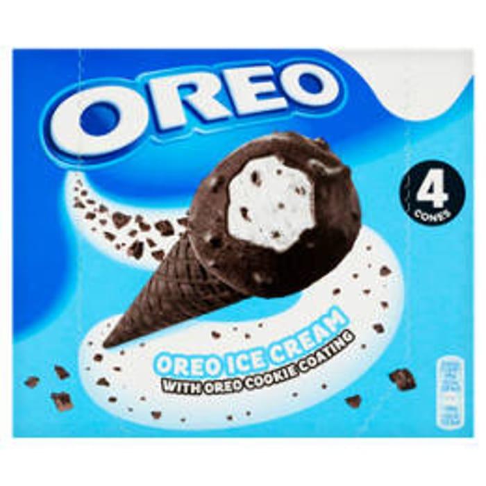 Oreo Ice Cream with Oreo Cookie Coating