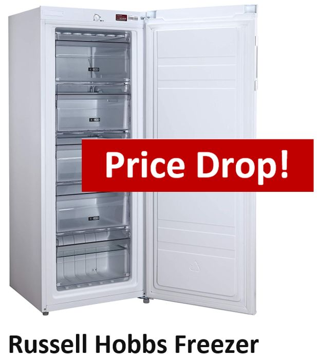 PRICE DROP! Russell Hobbs Freezer - SAVE £60 + FREE DELIVERY