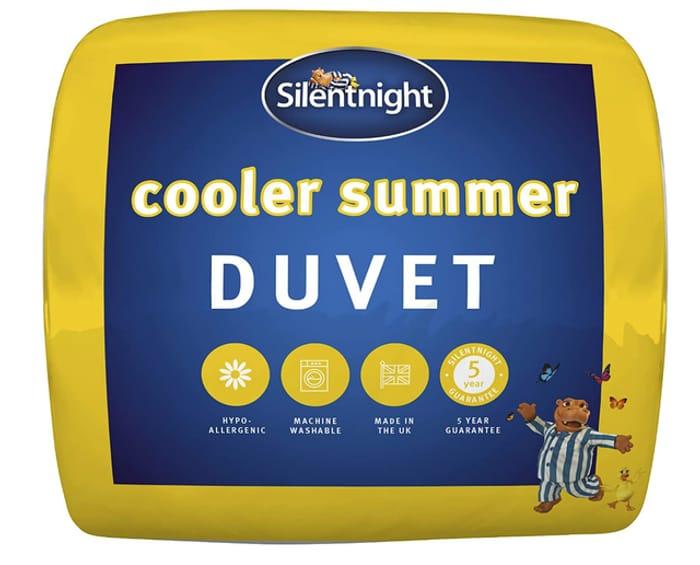 Silentnight Luxury Cooler Summer Duvet 4.5 Tog - Free Delivery