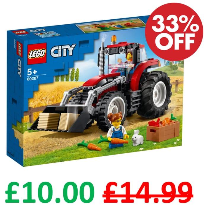 Best Price! LEGO CITY - TRACTOR (60287) ***4.9 STARS***