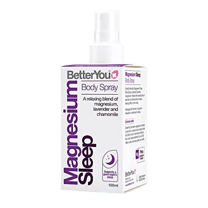 Magnesium Sleep Oil Goodnight Body Spray