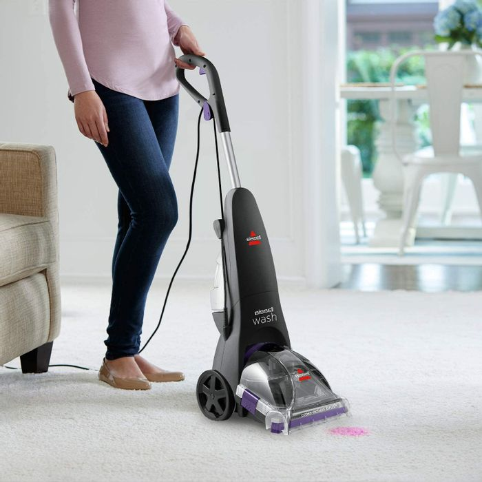 BISSELL ReadyClean Wash Carpet Cleaner with 5 Rows of Cross Action Brushes