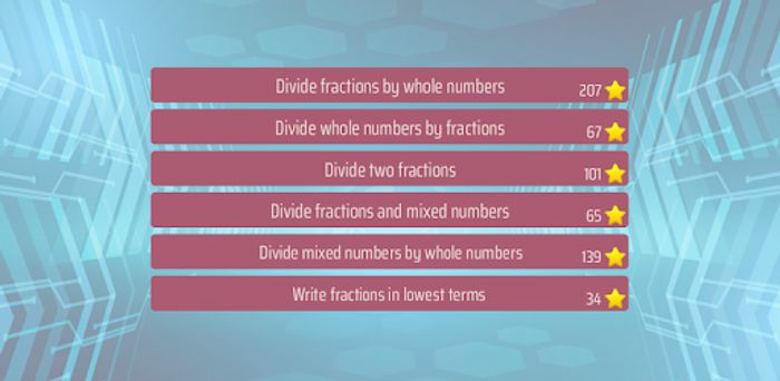 Dividing Fractions Math Game