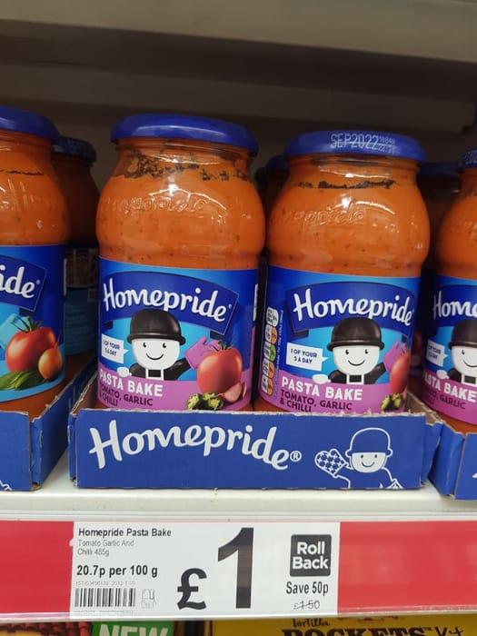 Homepride Pasta Bake Tomato & Herb  485g