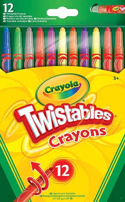 Crayola Twistables Crayons - Pack of 12