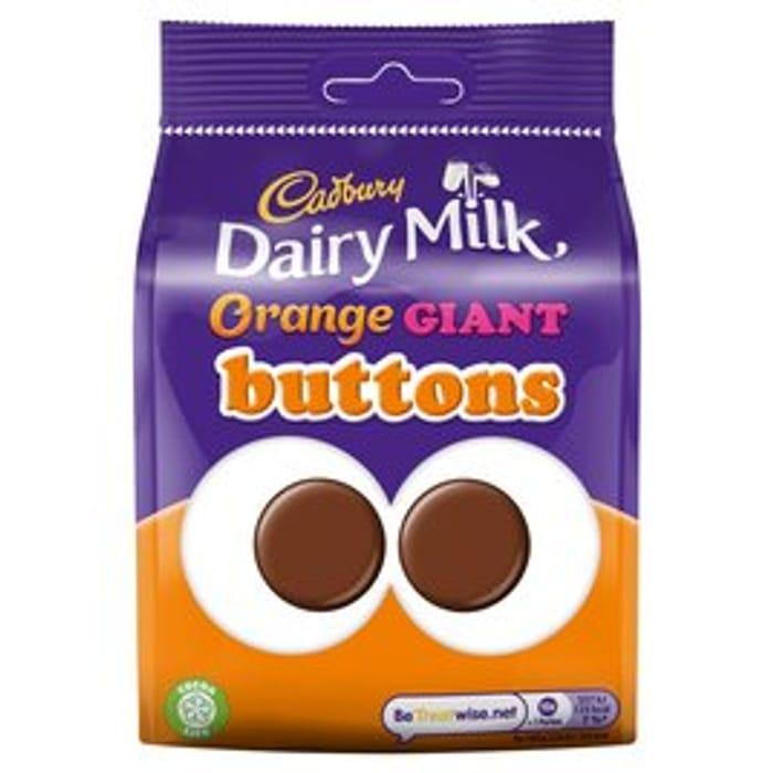 Cadbury Dairy Milk Giant Orange Buttons