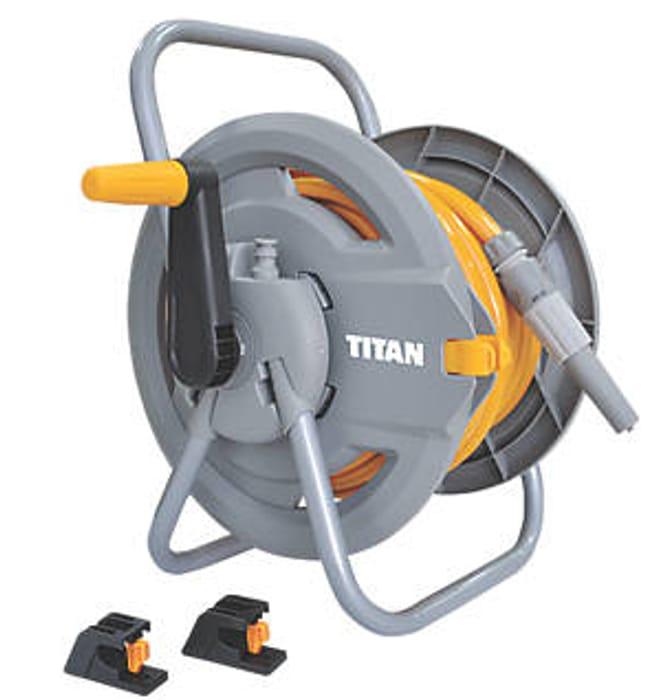 Titan Hose Reel 25m at Screwfix