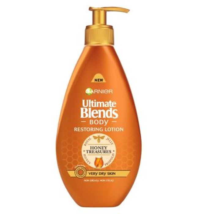 Special Offer! Ultimate Blends Honey Body Lotion Very Dry Skin 400ml